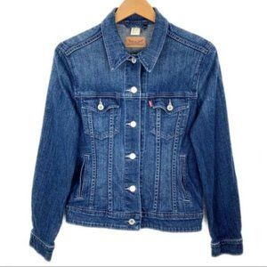 Levi's Womens Denim Jacket Size Medium